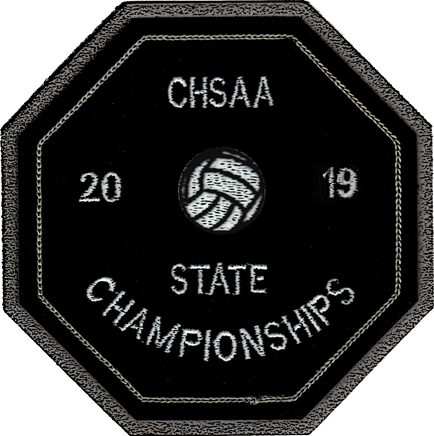 2019 CHSAA State Championship Volleyball Patch