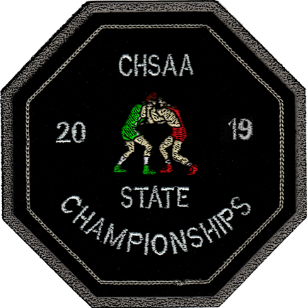 2019 CHSAA State Championship Wrestling Patch