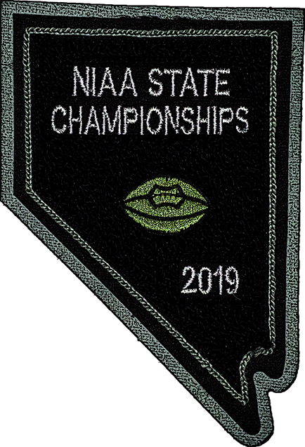 2019 NIAA State Championship Football Patch