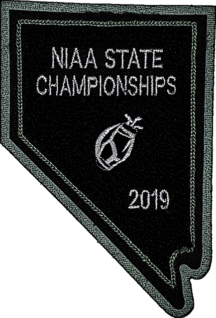 2019 NIAA State Championship Golf Patch