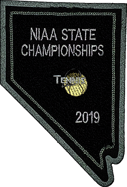 2019 NIAA State Championship Tennis Patch
