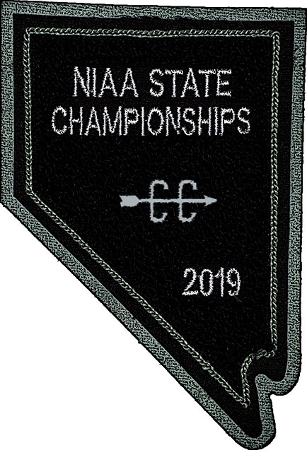 2019 NIAA State Championship Cross Country Patch