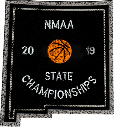 2019 NMAA State Championship Basketball Patch