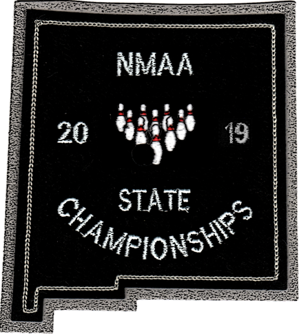 2019 NMAA State Championship Bowling Patch