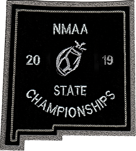 2019 NMAA State Championship Golf Patch