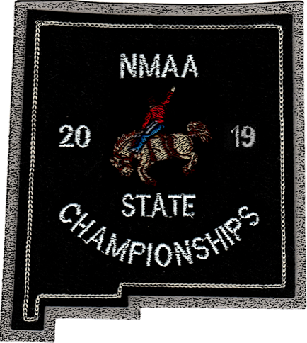 2019 NMAA State Championship Rodeo Patch