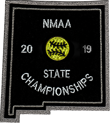 2019 NMAA State Championship Softball Patch