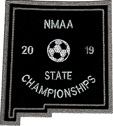 2019 NMAA State Championship Soccer Patch