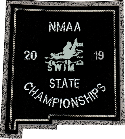 2019 NMAA State Championship Swim & Dive Patch