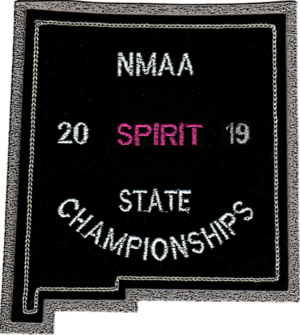 2019 NMAA State Championship Spiritline Patch