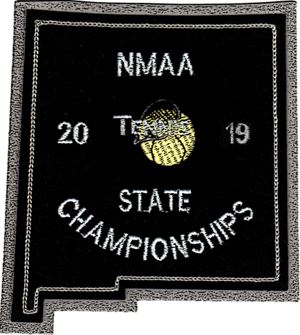 2019 NMAA State Championship Tennis Patch