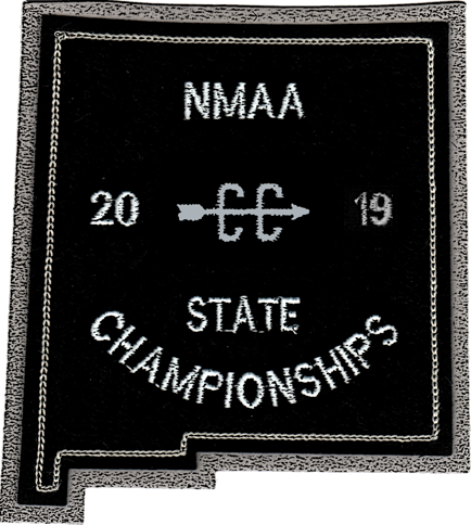 2019 NMAA State Championship Cross Country Patch