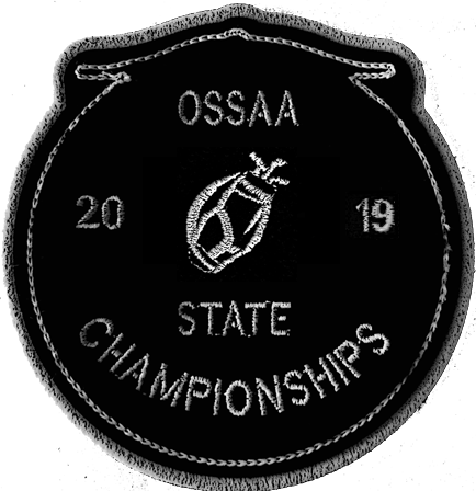 2019 OSSAA State Championship Golf Patch