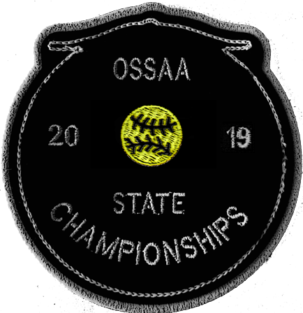 2019 OSSAA State Championship Softball Patch