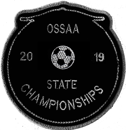 2019 OSSAA State Championship Soccer Patch