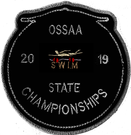 2019 OSSAA State Championship Swimming Patch