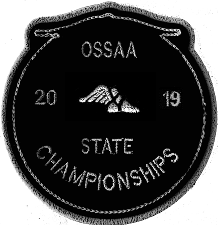 2019 OSSAA State Championship Track & Field Patch