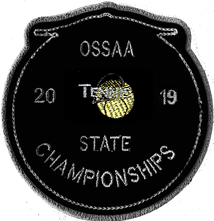 2019 OSSAA State Championship Tennis Patch