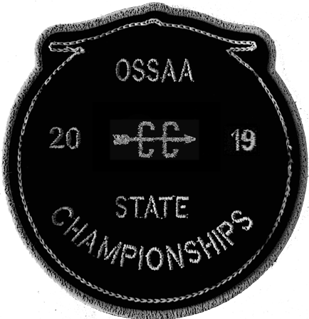 2019 OSSAA State Championship Cross Country Patch