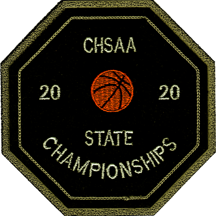 2020 CHSAA State Championship Basketball Patch