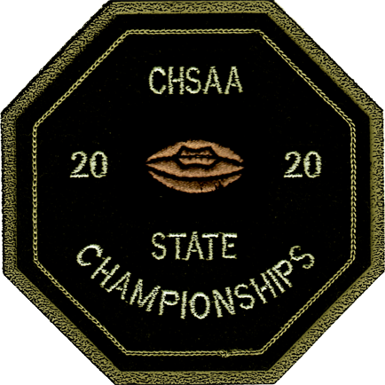 2020 CHSAA State Championship Football Patch