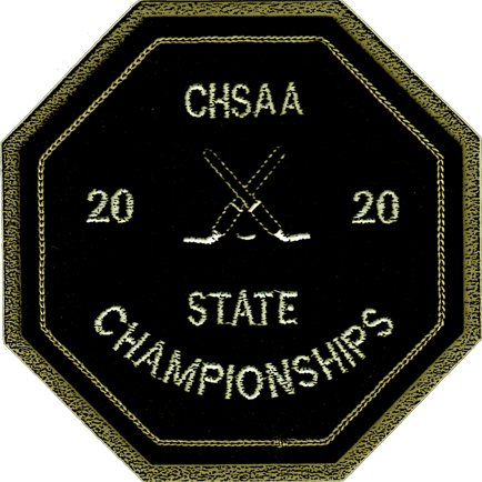 2020 CHSAA State Championship Ice Hockey Patch