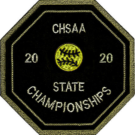 2020 CHSAA State Championship Softball Patch