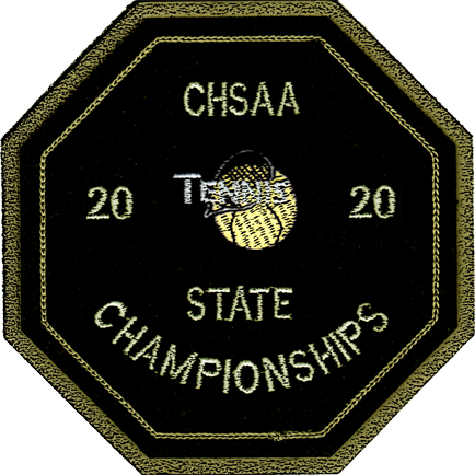 2020 CHSAA State Championship Tennis Patch