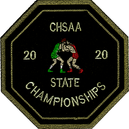 2020 CHSAA State Championship Wrestling Patch