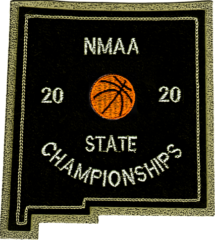 2020 NMAA State Championship Basketball Patch