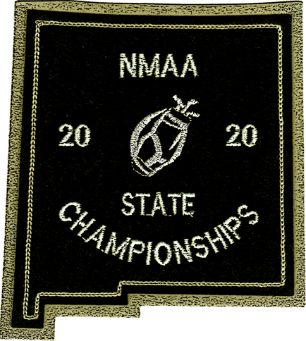 2020 NMAA State Championship Golf Patch