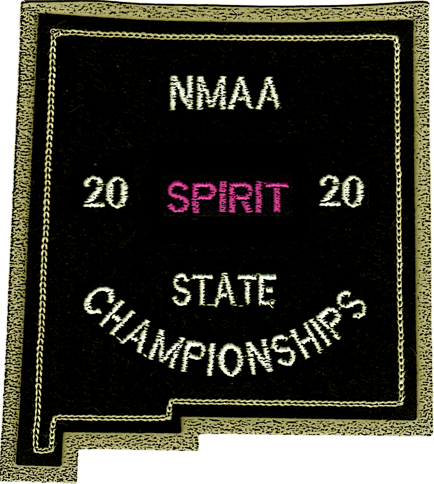 2020 NMAA State Championship Spirit Patch