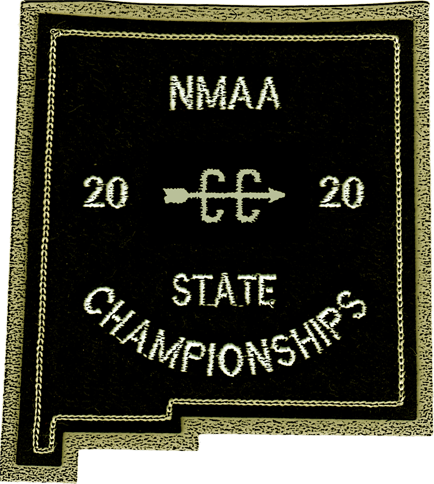 2020 NMAA State Championship Cross Country Patch