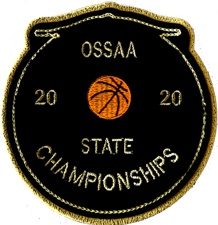 2020 OSSAA State Championship Basketball Patch