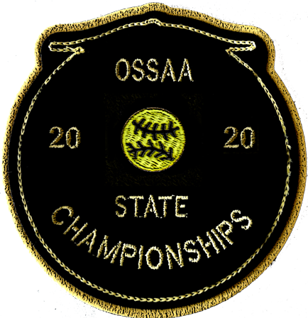 2020 OSSAA State Championship Softball Patch