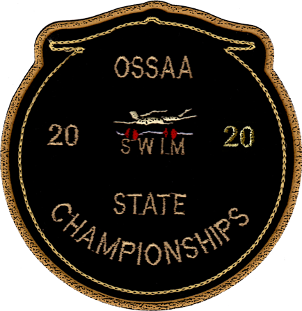 2020 OSSAA State Championship Swimming Patch