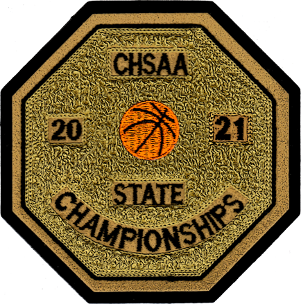 2021 CHSAA State Championship Basketball Patch