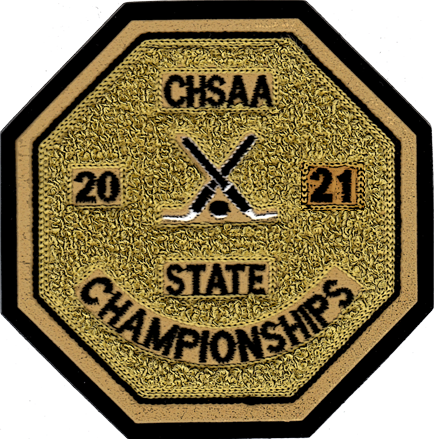 2021 CHSAA State Championship Ice Hockey Patch