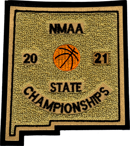 2021 NMAA State Championship Basketball Patch