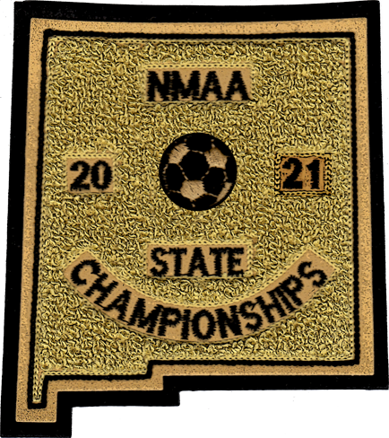 2021 NMAA State Championship Soccer Patch