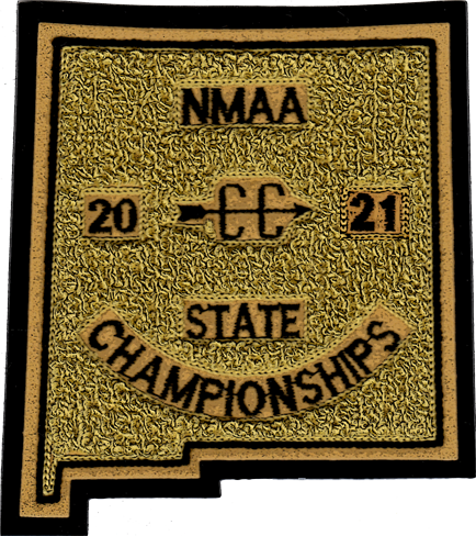 2021 NMAA State Championship Cross Country Patch