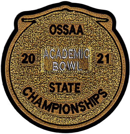 2021 OSSAA State Academic Bowl Patch