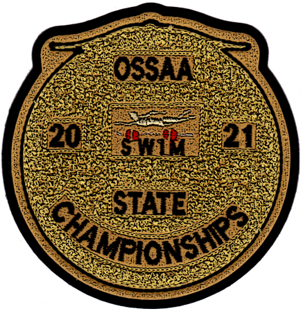 2021 OSSAA State Championship Swimming Patch