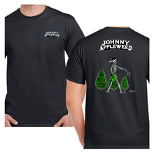 Load image into Gallery viewer, Johnny Appleweed Black T-Shirt