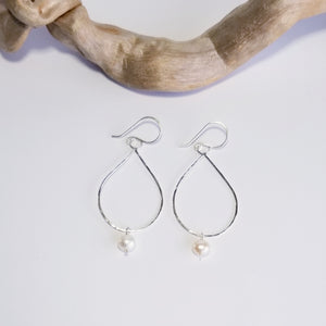 Marina Earrings with Pearls - Changing Tides Jewelry