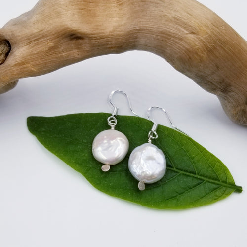 Mother of Pearl Earrings - Changing Tides Jewelry