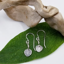 Load image into Gallery viewer, Monstera Earrings - Changing Tides Jewelry