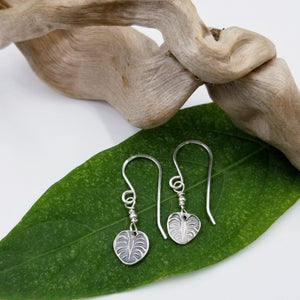 Monstera Earrings - Changing Tides Jewelry