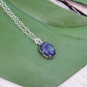 Lapis Lazuli and Sterling Silver - Changing Tides Jewelry