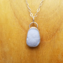 Load image into Gallery viewer, White Druzy Pendant
